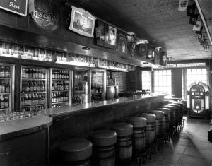 Brickskeller down bar 1980's